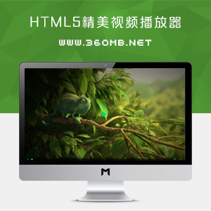 HTML5精美Ckin视频播放器